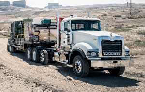Titan's 16-liter MP10 engine delivers the attitude and performance required for the heaviest of heavy hauls.