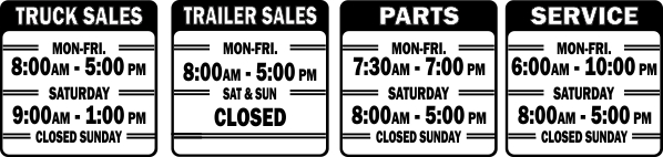 Dealership Hours