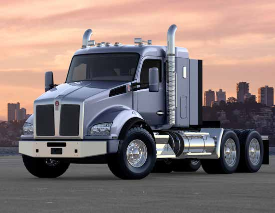 Kenworth T880 Flat Top Sleeper